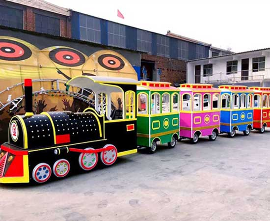 Kiddie Electric Trackless Trains